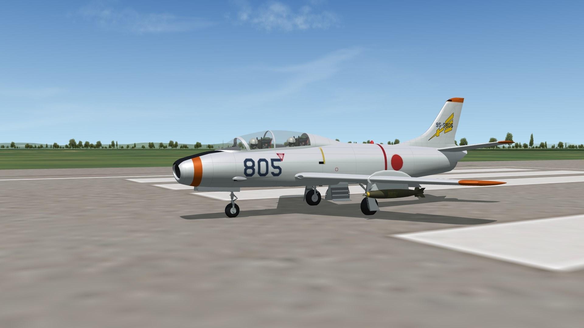 SF2 Fuji T-1 Trainer