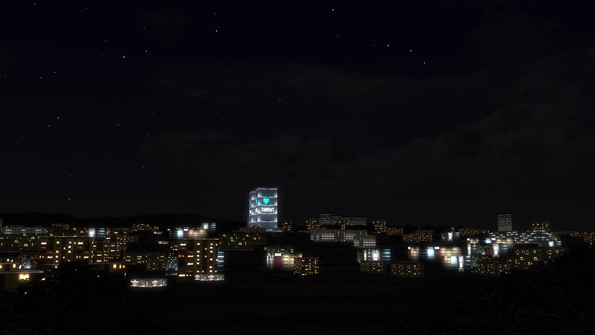 Night Building Texture Beta