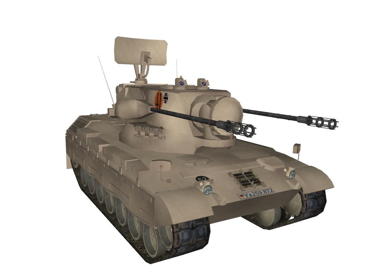 Flakpanzer Gepard Anti-aircraft gun tanks