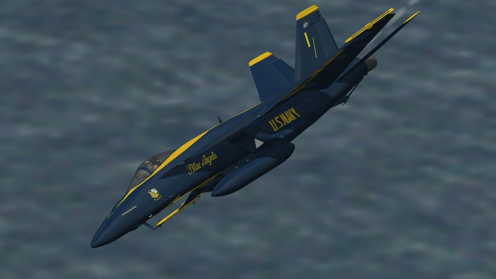 F/A-18E What If Blue Angels Skin