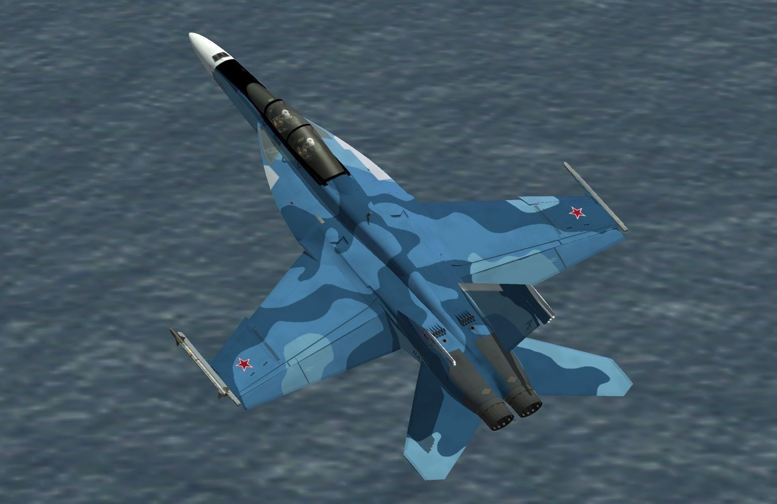 F/A-18F Su-34 Fullback Scheme