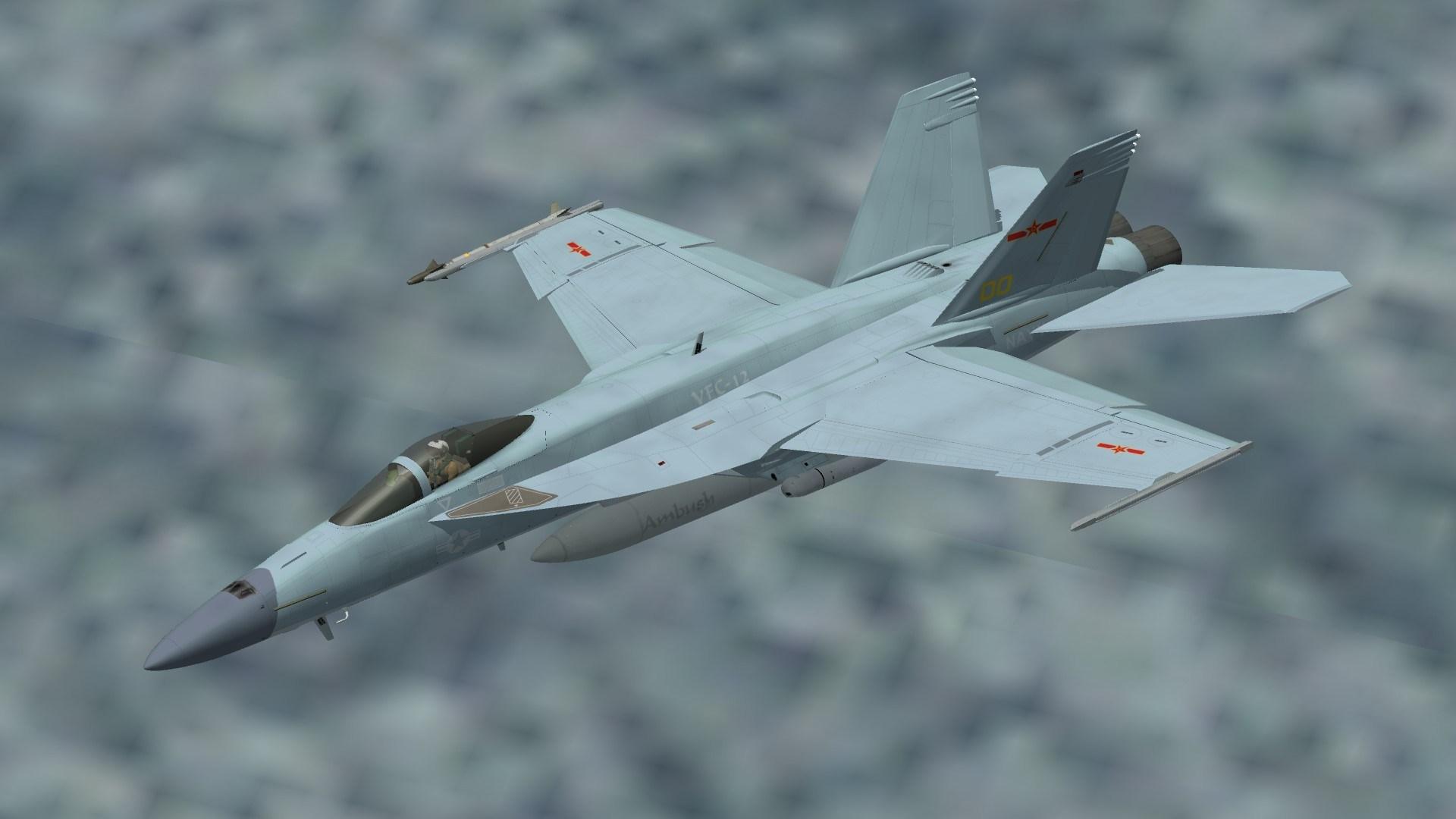 F/A-18E J-10B Vigorous Dragon Scheme