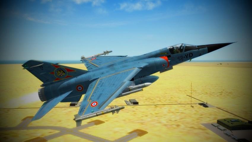 Mirage F-1C_RWR