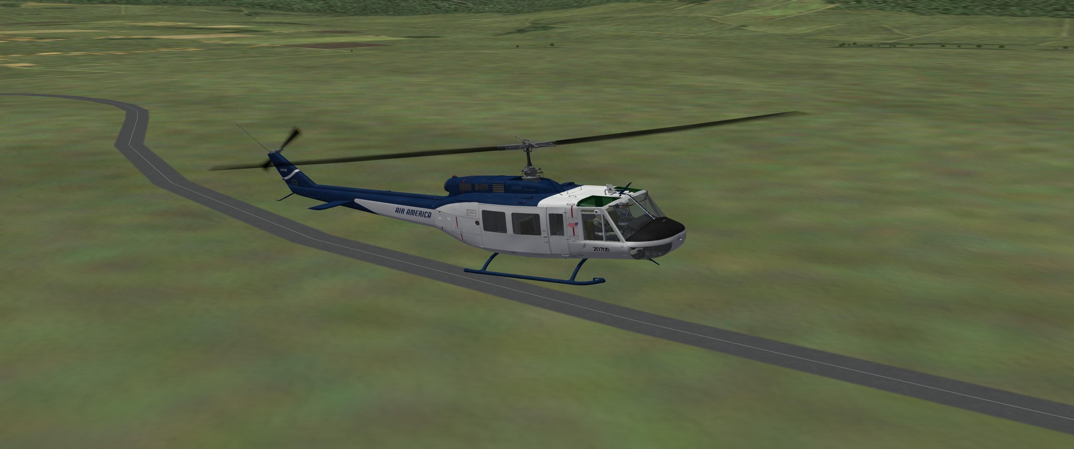 UH-1H HUEY (VIETNAM WAR)