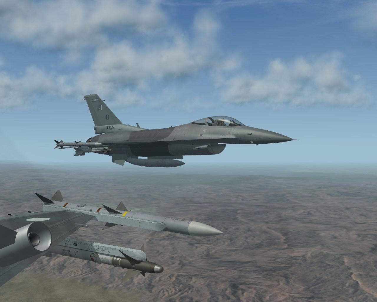 PAF F-16C Block 50