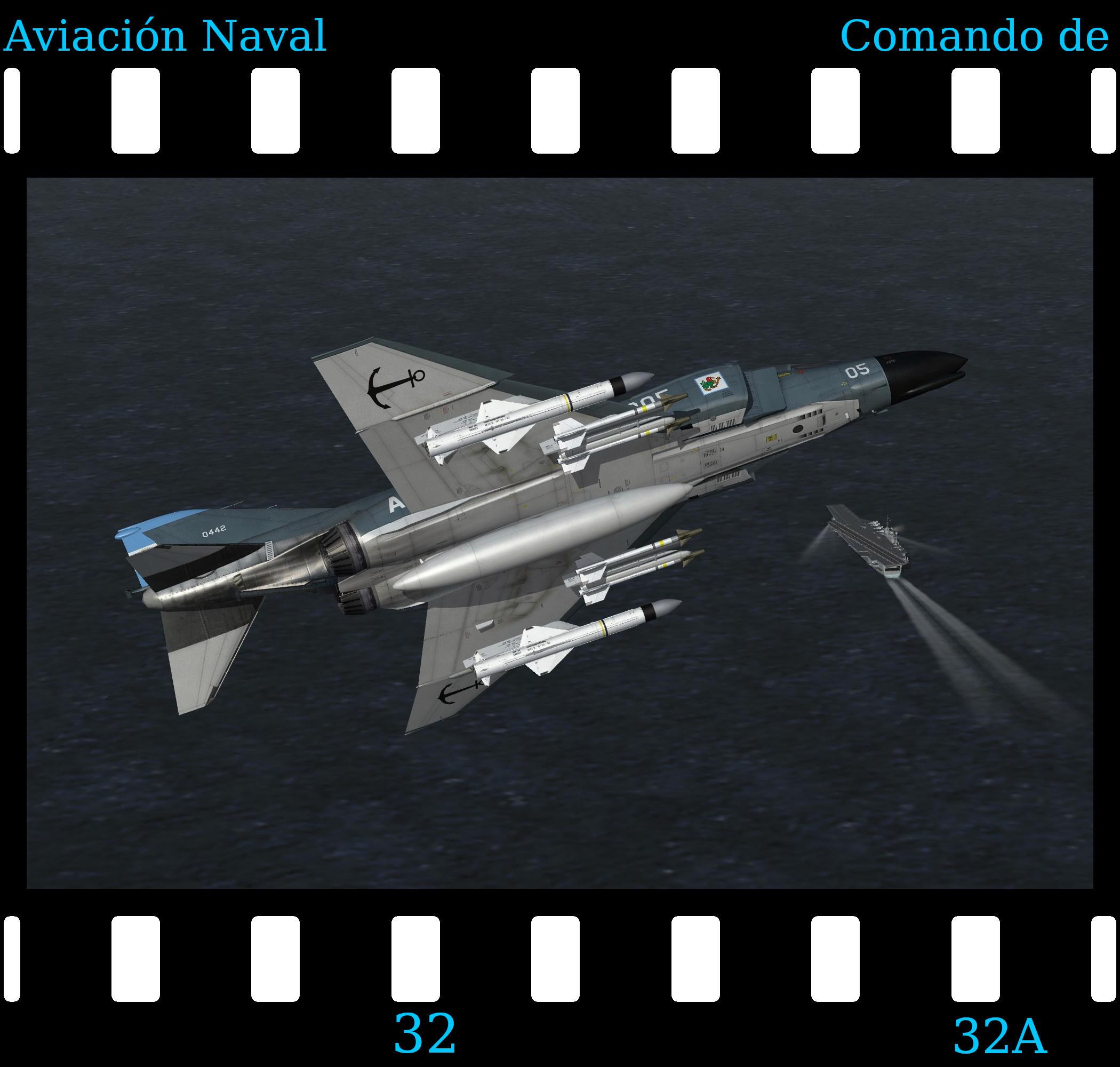 [Fictional] McDonnell Douglas F-4N 'COAN' for STRIKE FIGHTERS 2