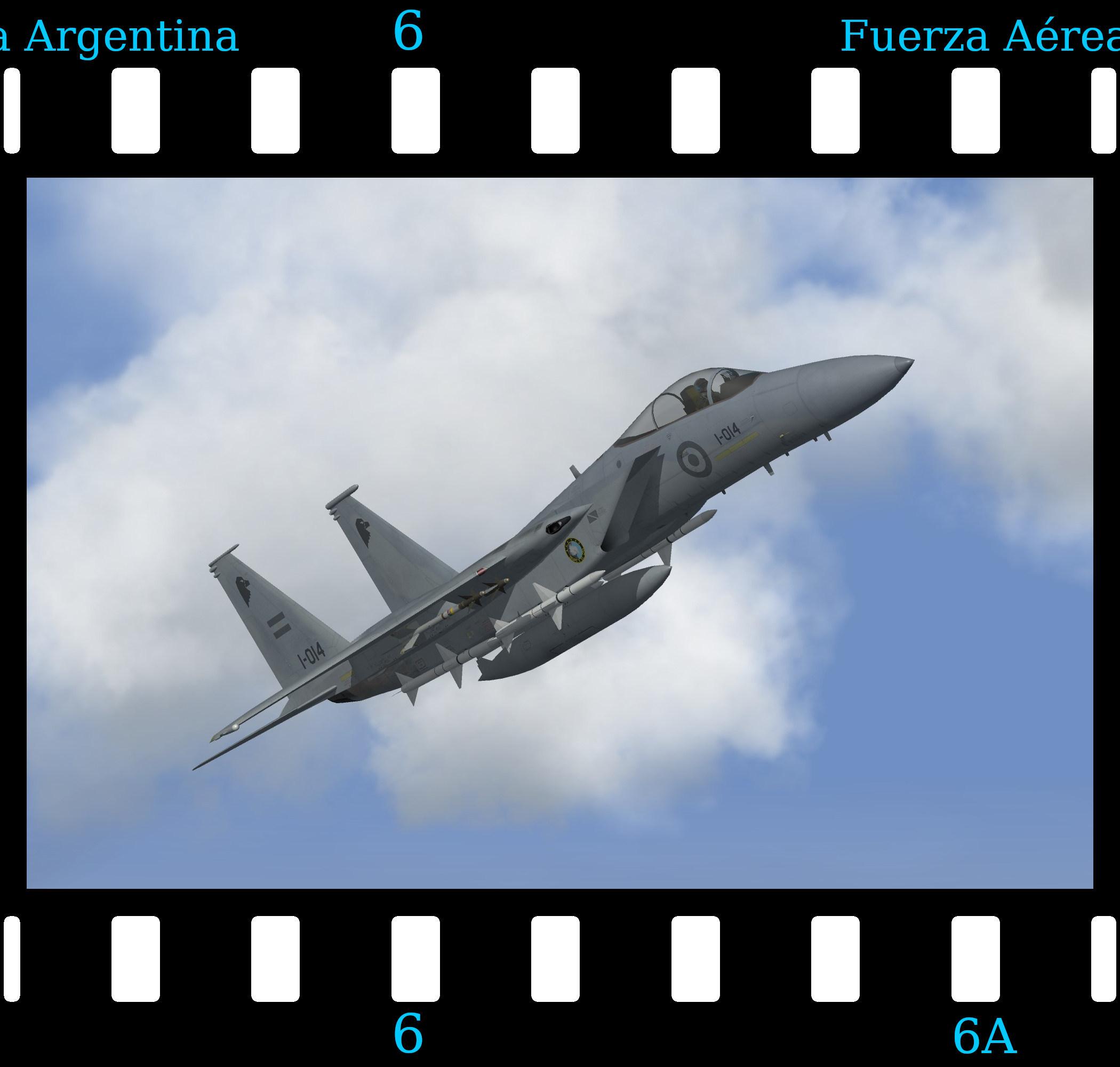 [Fictional] McDonnell Douglas F-15A Eagle 'Argentina'