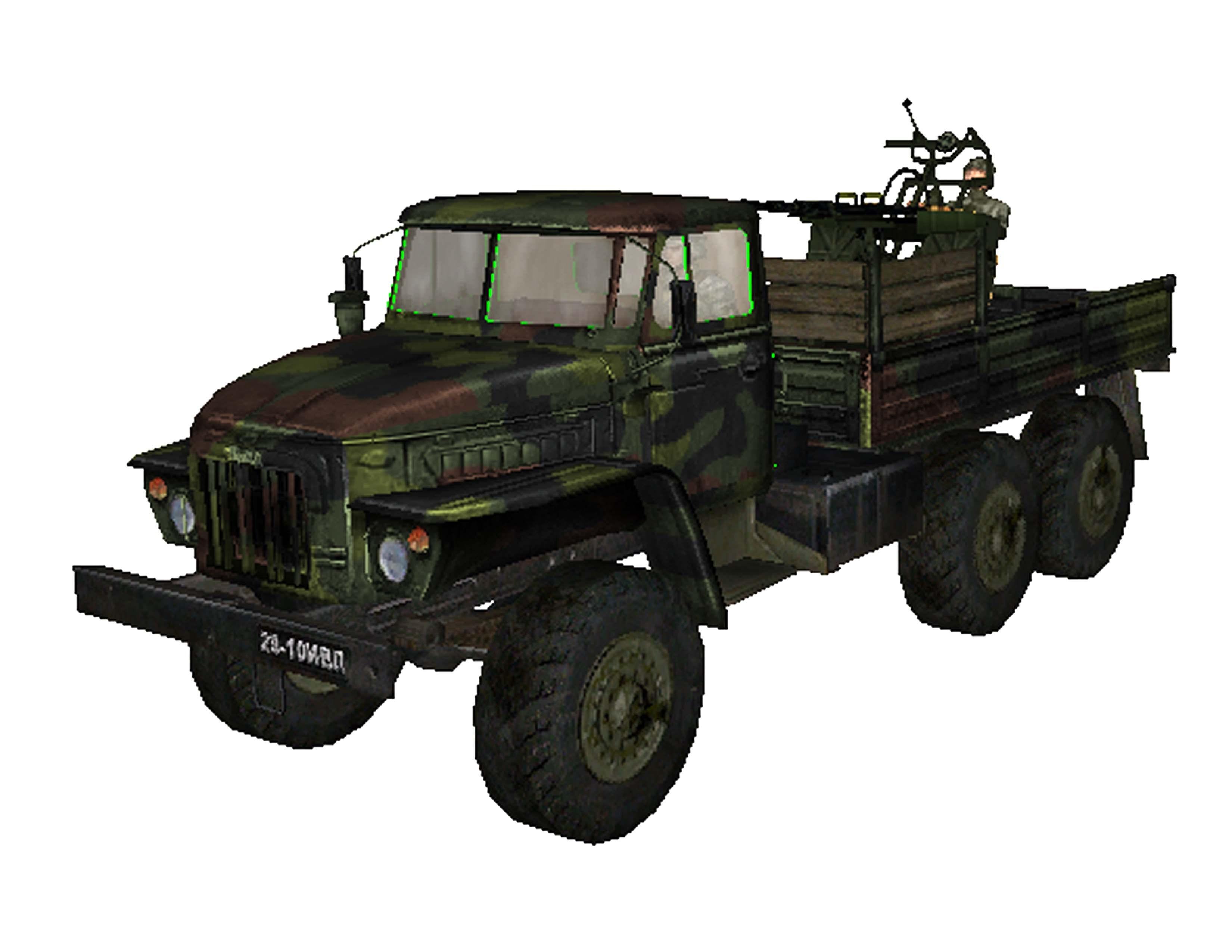 SF2_Ural-375 Camo Cuba