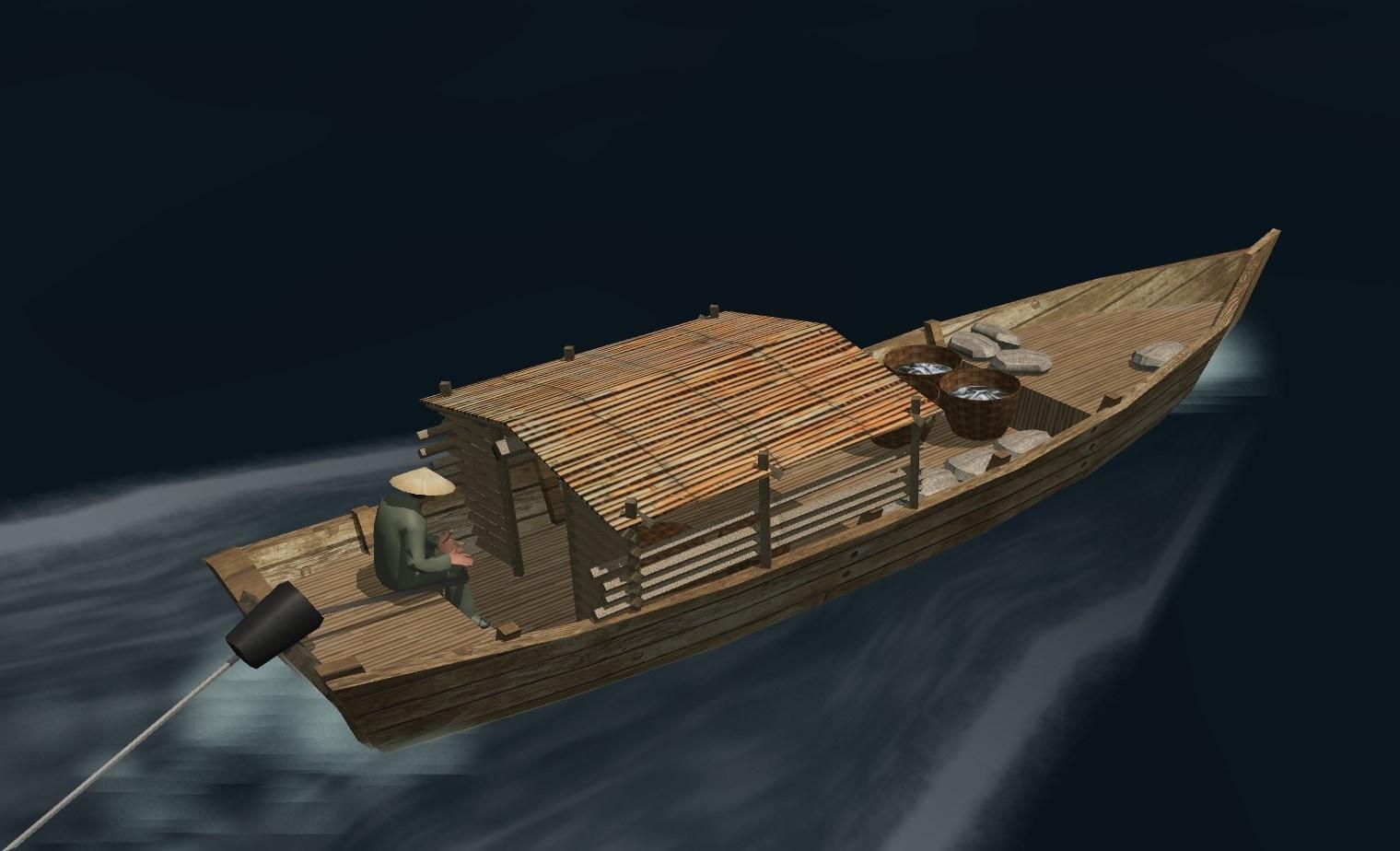 DaNang longboat