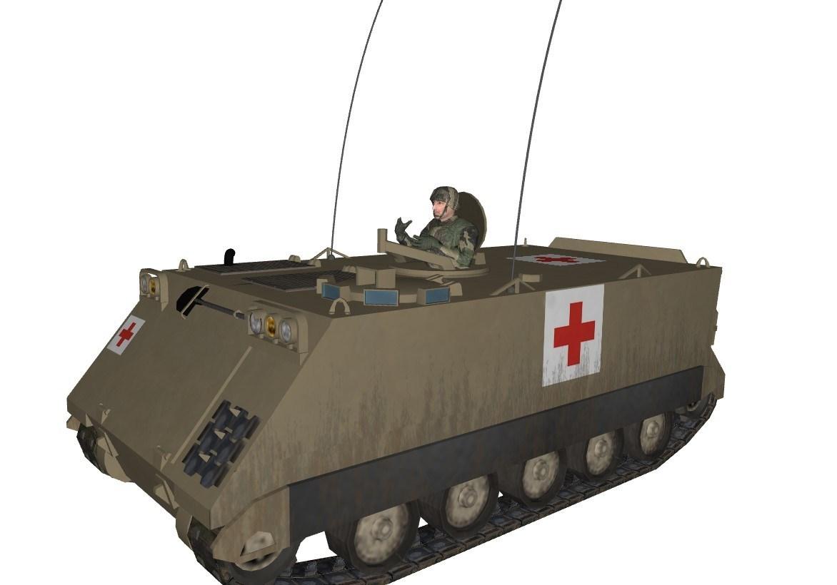 M113 UN and Ambulance