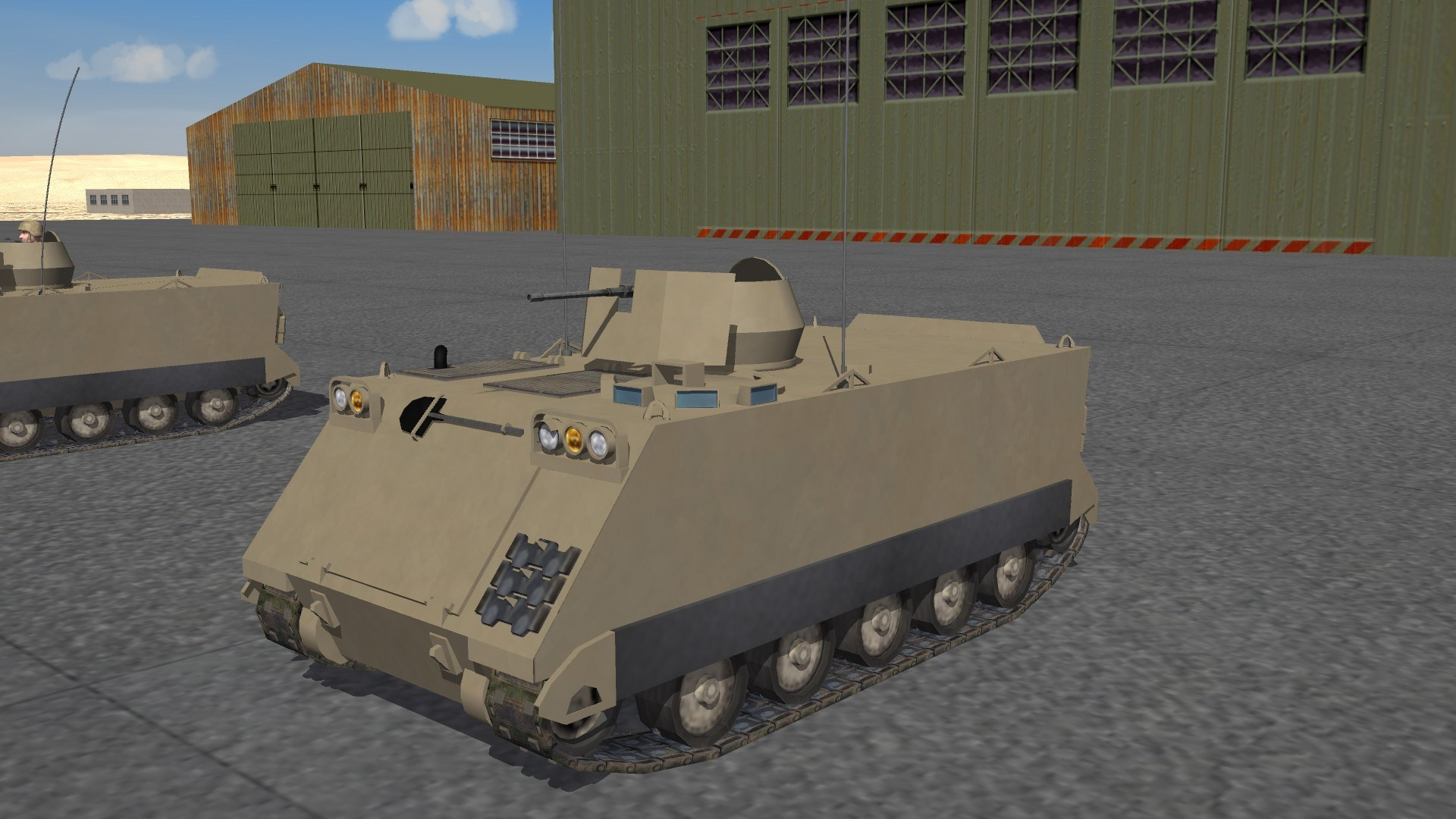 M113 ACAV from 60's to 2000 No crew