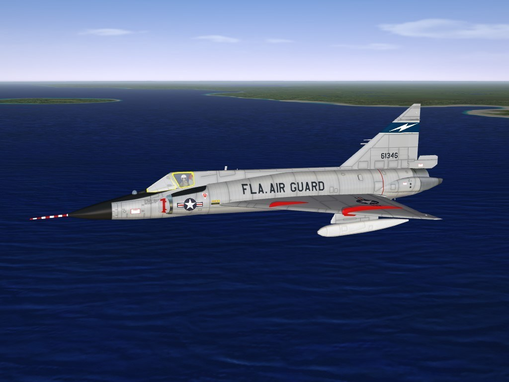 SF2 F-102A (v2k) 159th FIS Fl ANG Skin & Decal Pack
