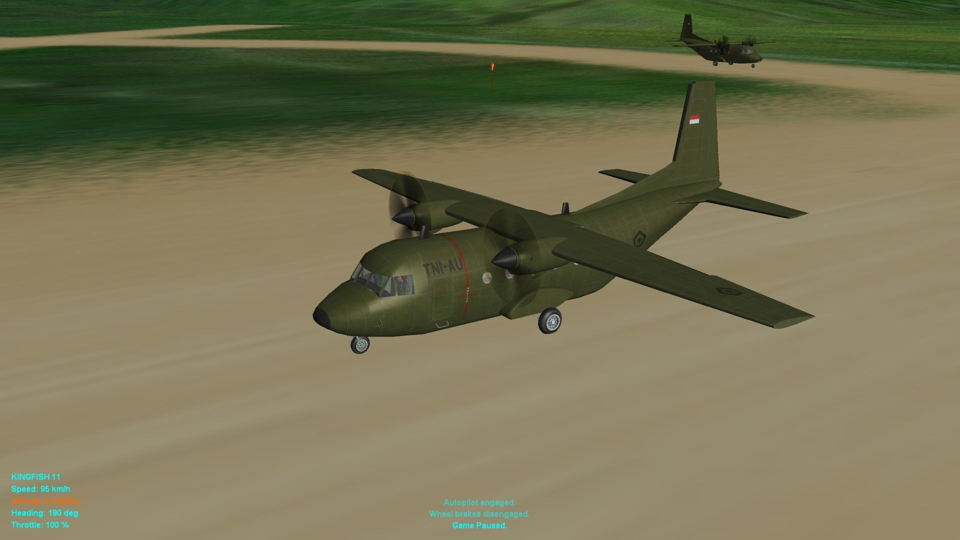 CASA-212-100 TNI