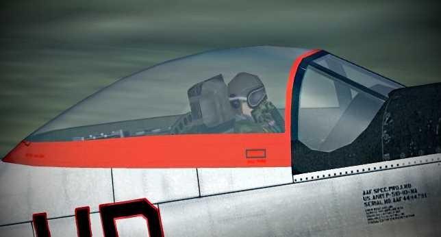 Repainted WW2 Pilot for P-51D