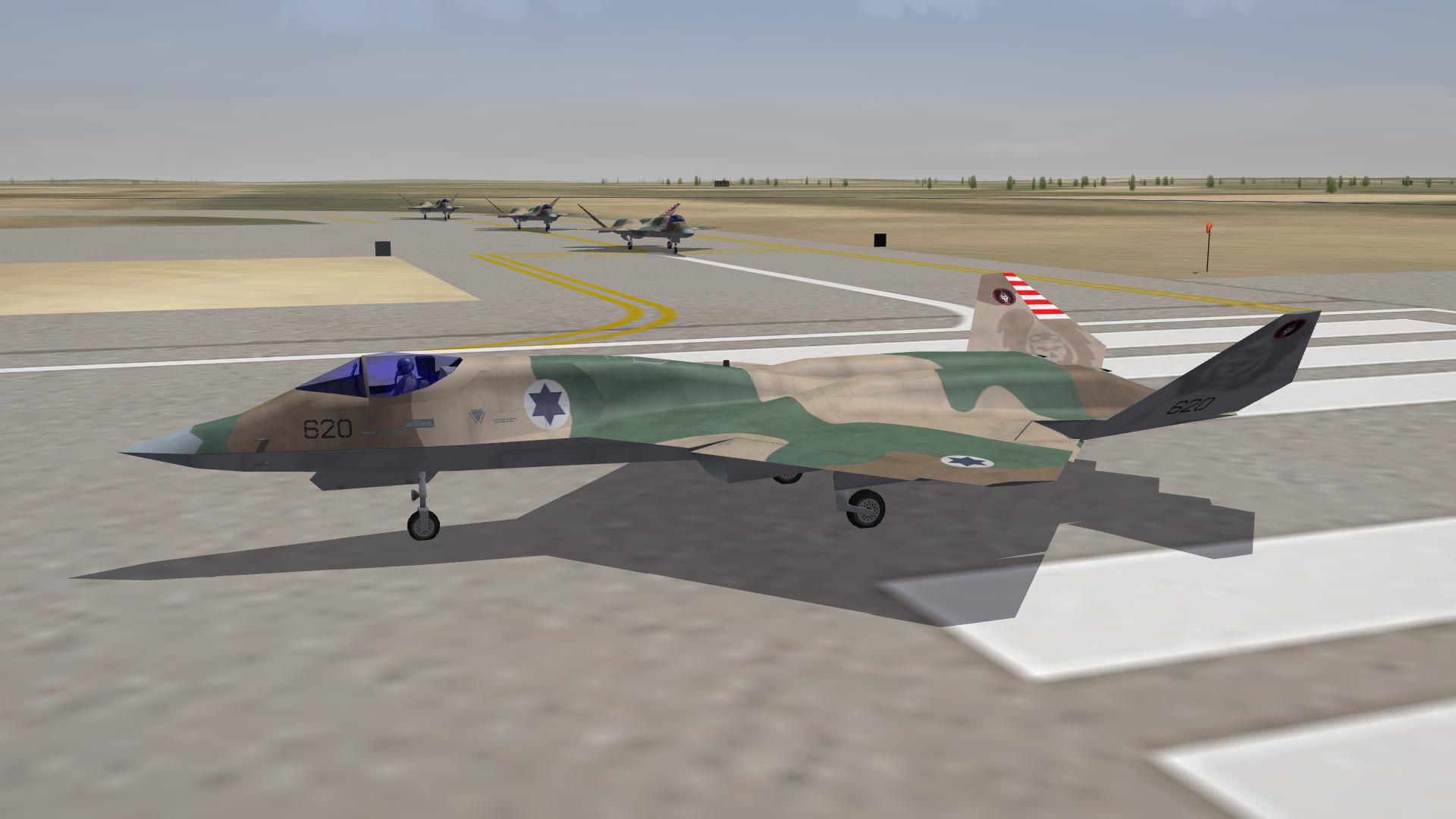 101sq IAF for Dels' F-23A Black Widow II