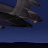 KC-135 Night Refuel