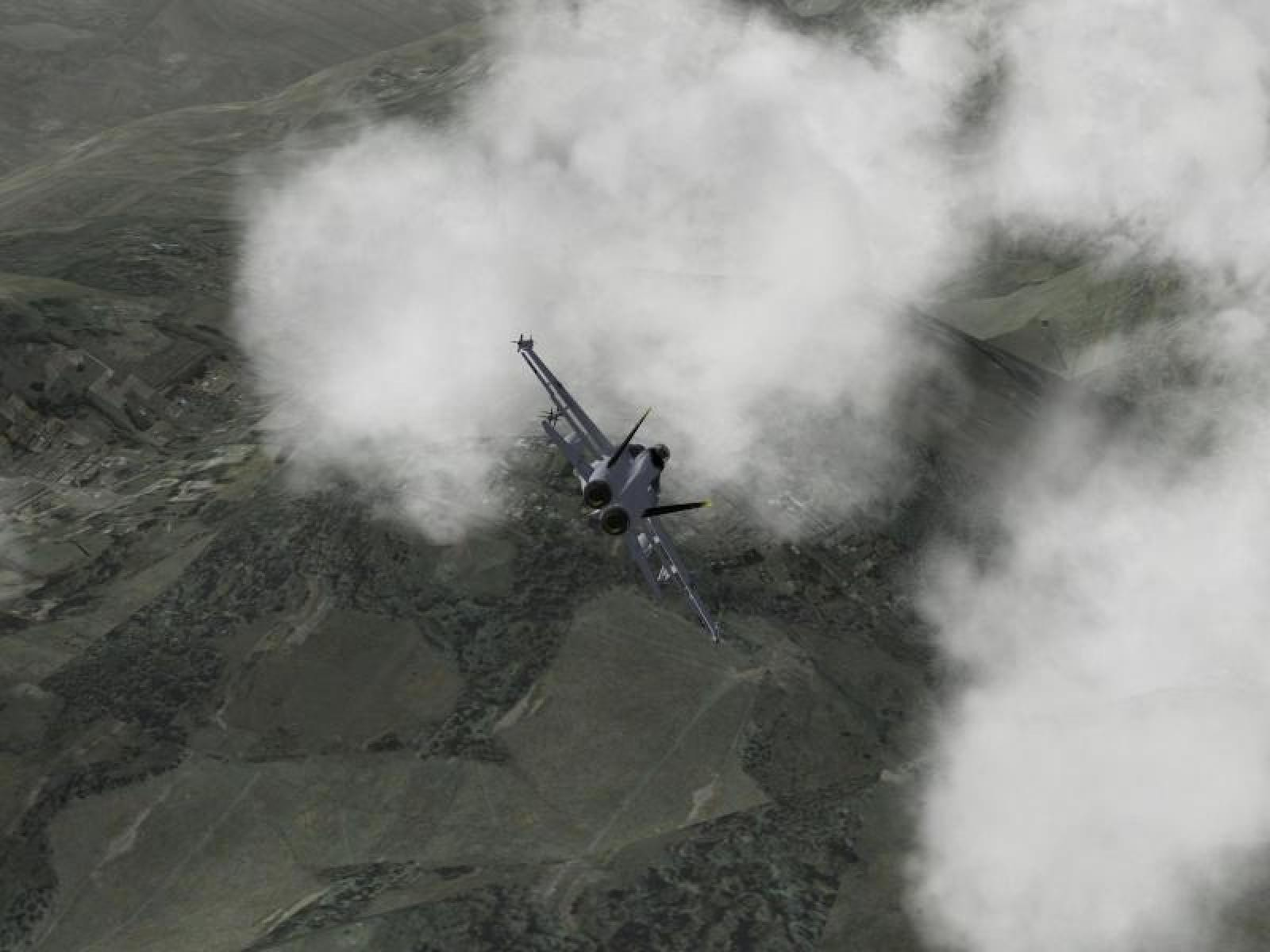 F/A-18 shot 1
