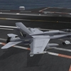 F18 after landing on USS Nimitz