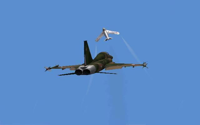 F-5 Vs MiG-17 part 2