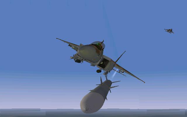 F-15I Shoting AIM-120