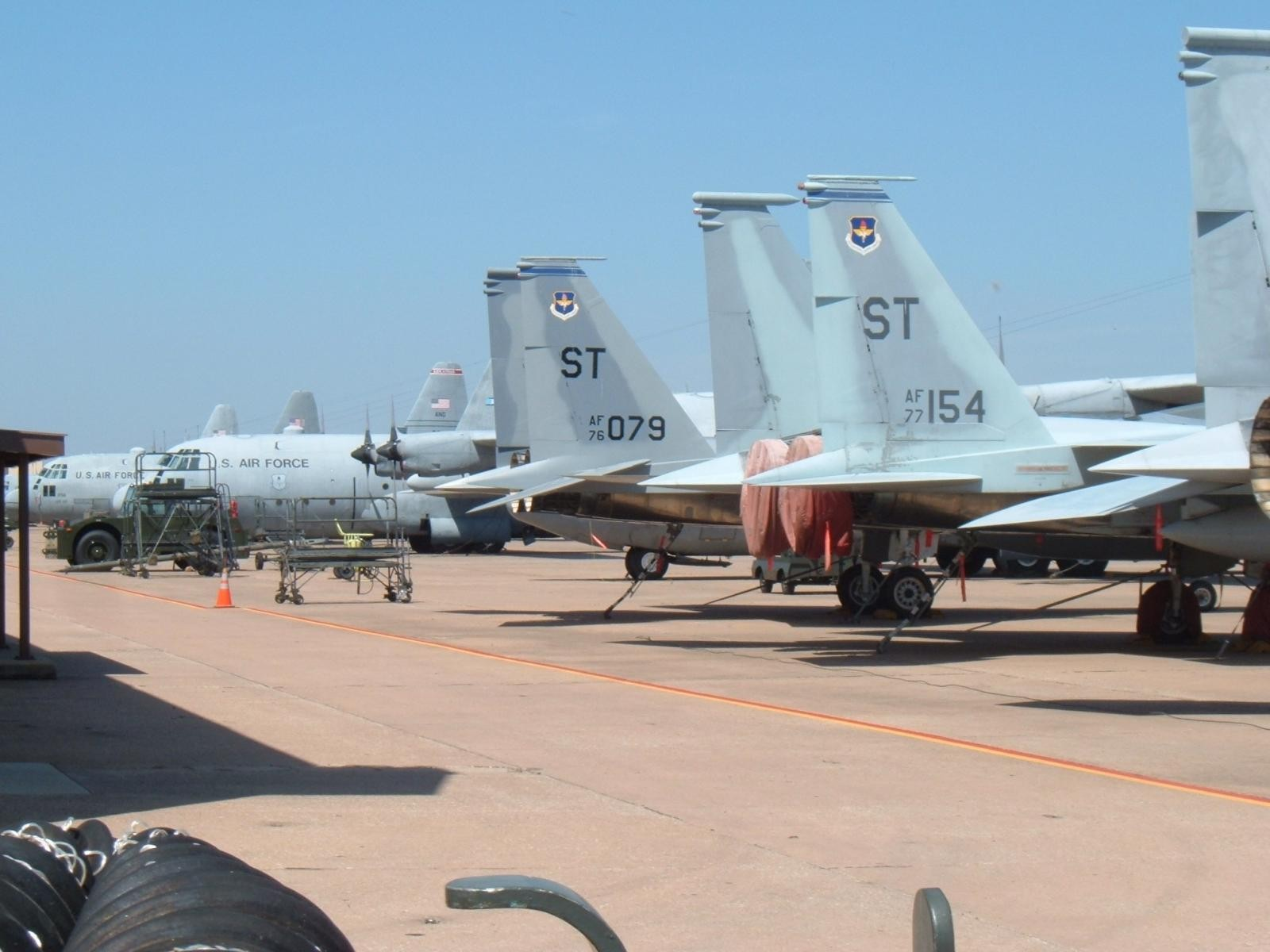 F-15's and 130's