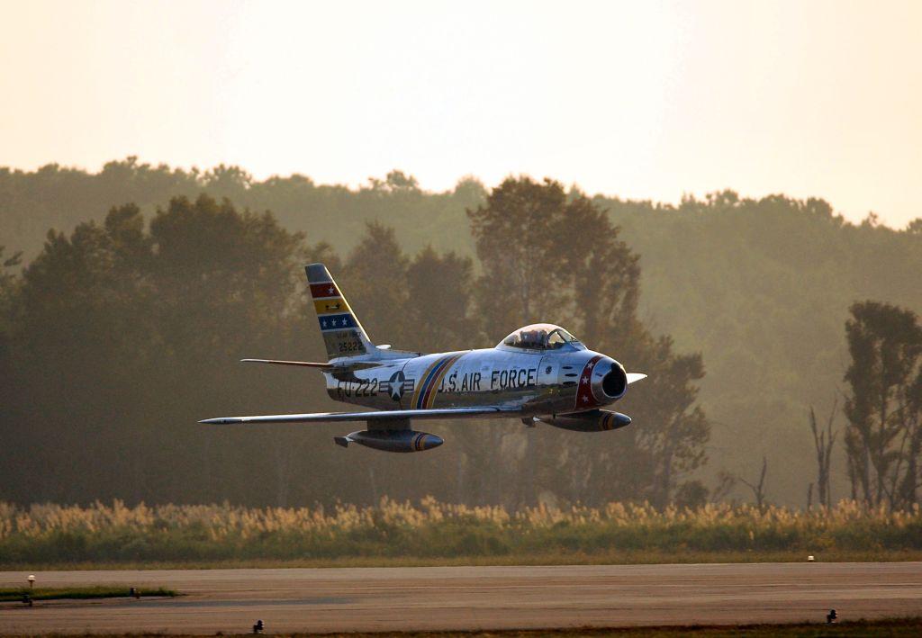 F-86 at dusk Oceana 2005