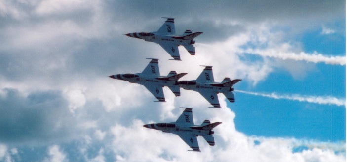 Tbirds Formation
