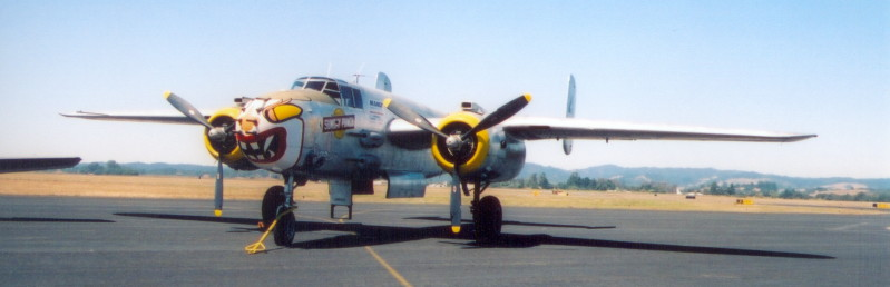 Scary B-25