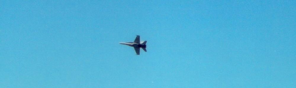 F-18 Flight