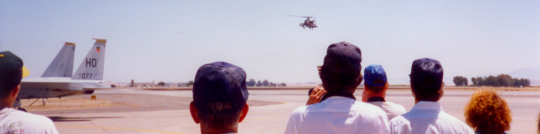 AH-64 @ Travis AFB 1990