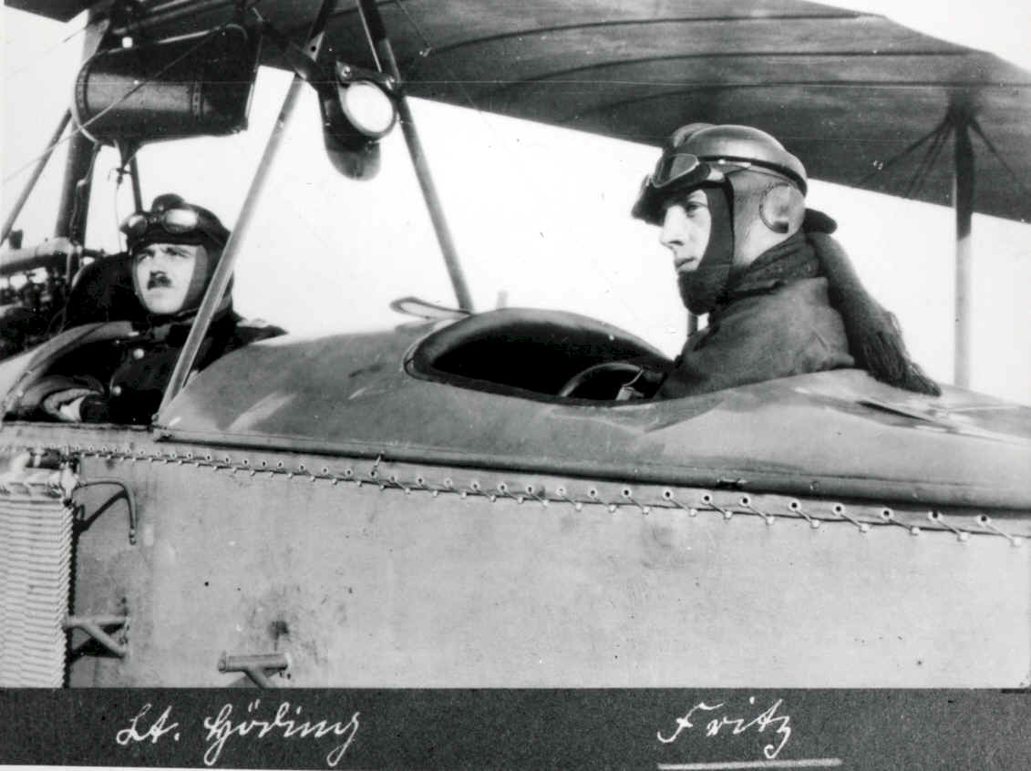 Kempf in cockpit of Alb CI