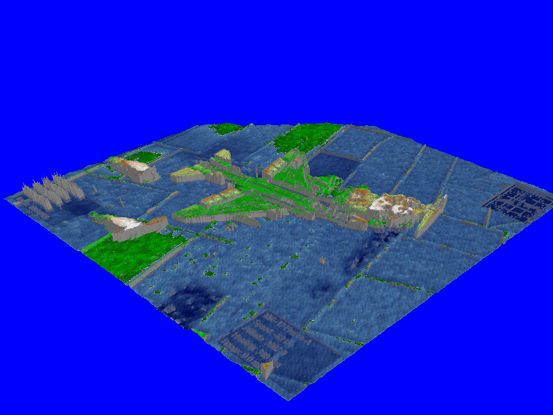 This is the picture inported to my SC4 terrain program