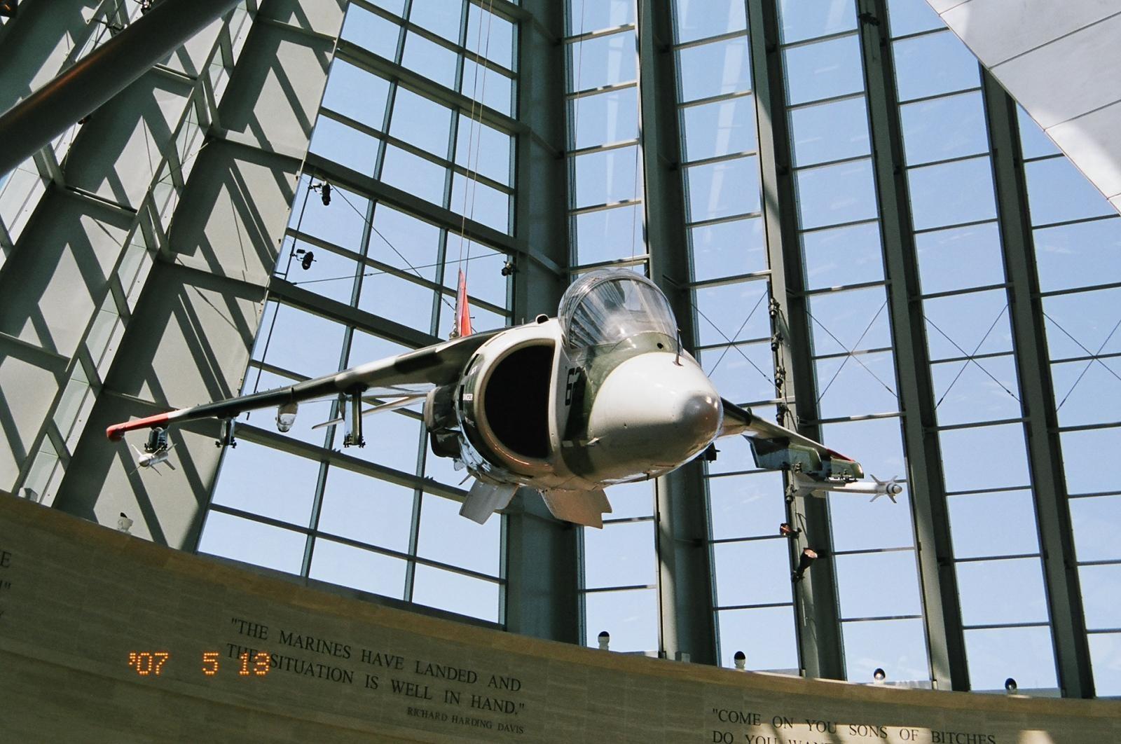 USMC Museum Harrier