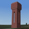 Heavy bricks built water tower for BoB terrain