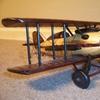 Wooden Bi-Plane
