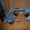 Dragon F-15C/16D/18F Corgi AV-8C 1:72