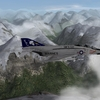 F-4J mountain flying.