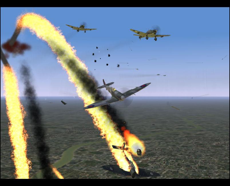 Stuka Down - Engine Separation