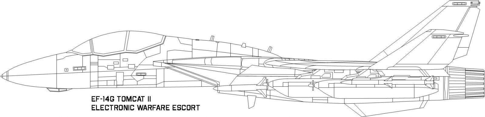 EF-14G EW mission armament