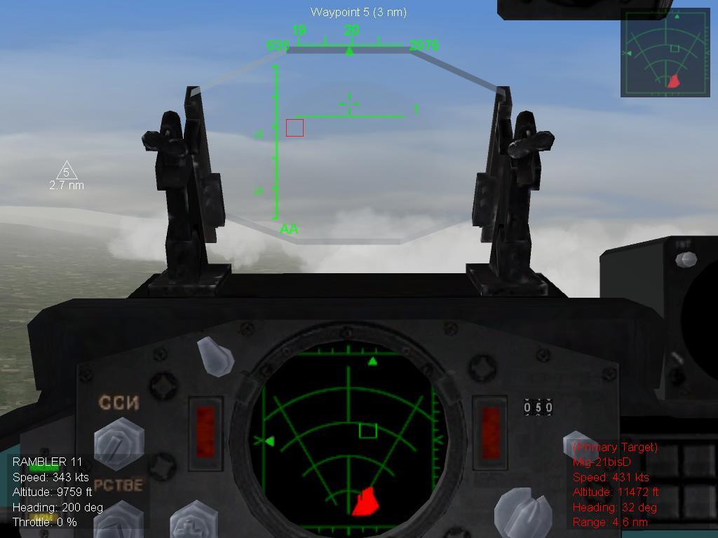Air Combat Mode Radar