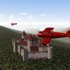 Flug über die Vogesen