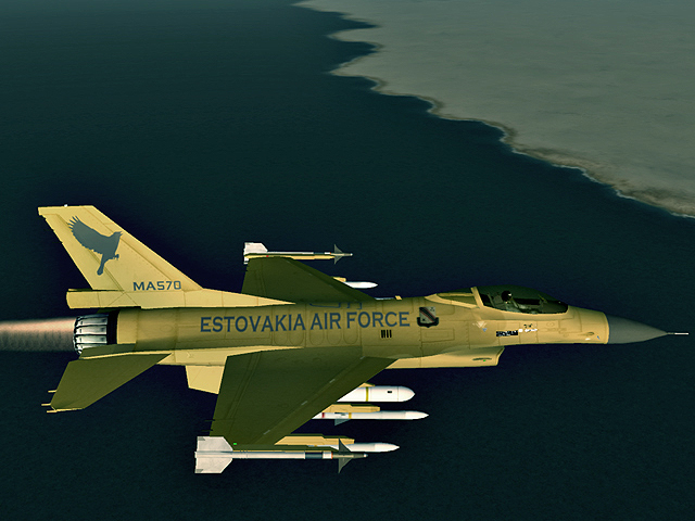 Edinorog F-16C