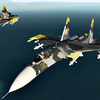 Yellow SQ Su-27 (Effect)