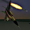 Schwarze MiG-25
