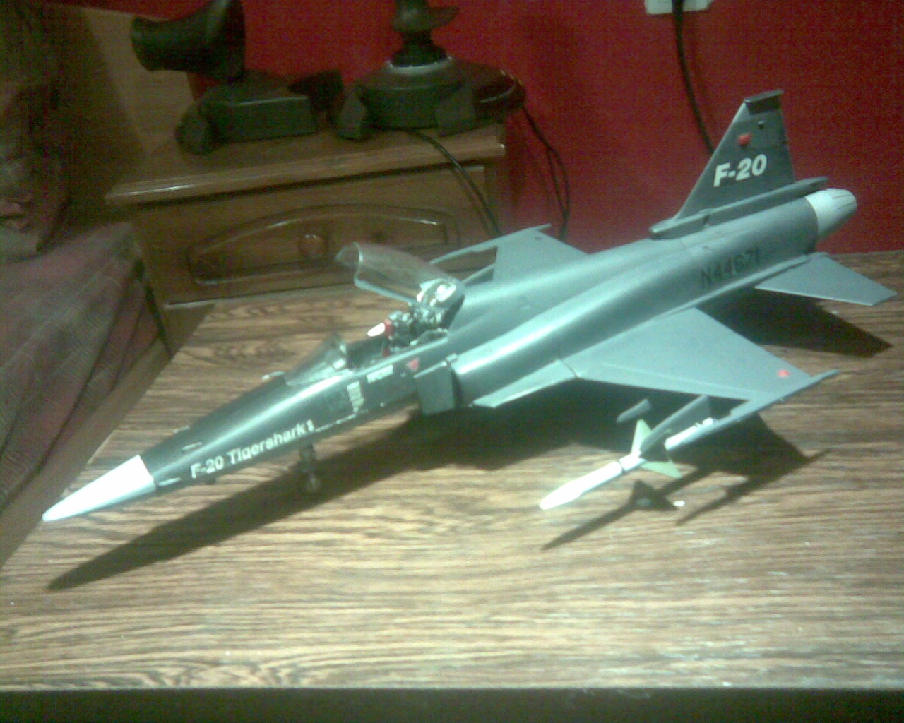 Monogram F-20 Tigershark 1:48