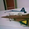 Area 88 modelkits f-5 & KFIR