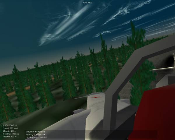 StaryPines Yak-25 takeoff