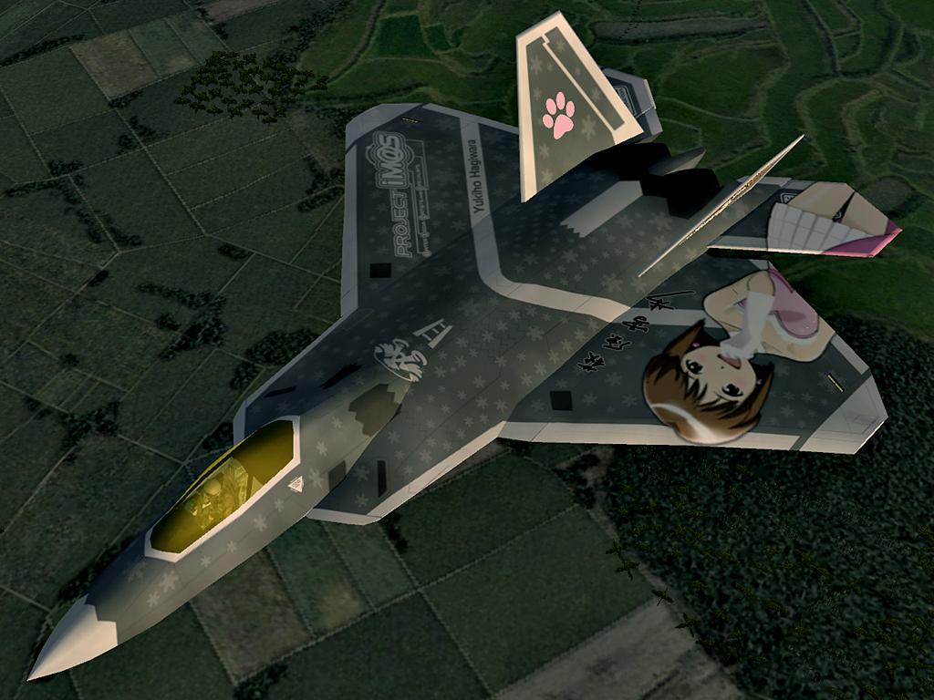F-22A Raptor -THE IDOLMASTER YUKIHO- #8