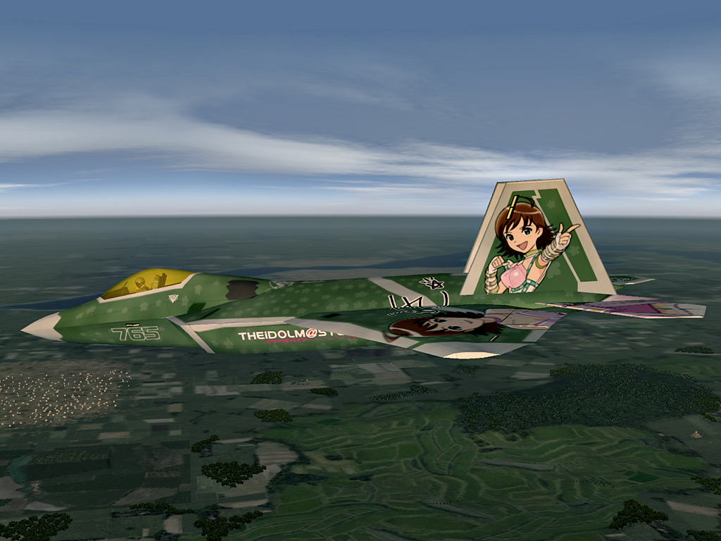 F-22A Raptor -THE IDOLMASTER MIKI-EX- #1
