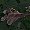 F-22A Raptor -THE IDOLMASTER HARUKA- #1